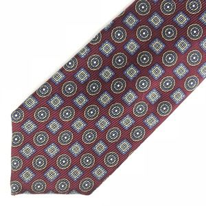 ROBERT TALBOTT of Class Neck Tie Red Blue Yellow
